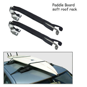 New Style Soft Roof Racks Universal Car Roof Luggage Rack kayak surfboard fishing skis SUP