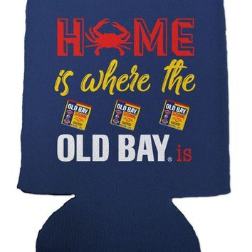 Home Is Where The Old Bay Is (Navy) / Koozie