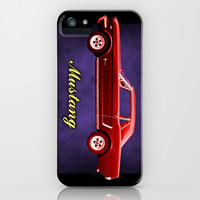 Mustang - iPhone & iPod Case by Alan Hogan