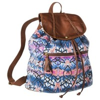 Mossimo Supply Co. Print Backpack Handbag - Blue