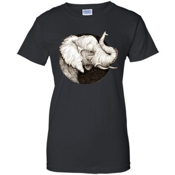 Stunning Elephant Trunk Up Good Luck 2017 T Shirt