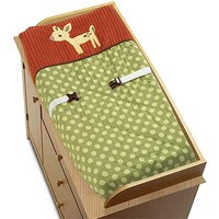 Forest Friends Changing Pad Cover Image - jjd1035bed9 - Type 1