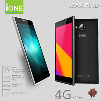 IONE MAX FIND 5.0 QUAD CORE 8GB 8MP CAMERA WITH HOTKNOT TMOBILE & AT&T
