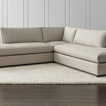Dryden 3-Piece Two Bumper Sectional