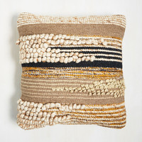 Masterfully Natural Pillow | Mod Retro Vintage Decor Accessories | ModCloth.com