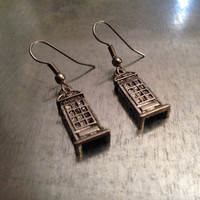 Phone Booth Earrings