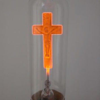 Christian Church Cross Decorative Neon Candle Light Bulb 220V - edison bulb - edison light bulb