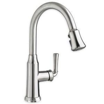 American Standard Portsmouth Pullout Spray Single Hole Kitchen Faucet Polished Chrome