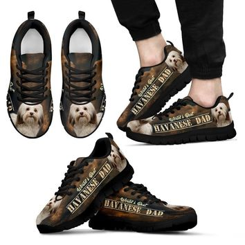 'World's Best Havanese Dad' Running Shoes-Father's Day Special