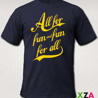 All For Fun - American Apparel Graphic T-shirt