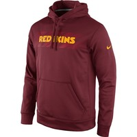 Nike Washington Redskins KO Speed Logo Therma-FIT Performance Hoodie