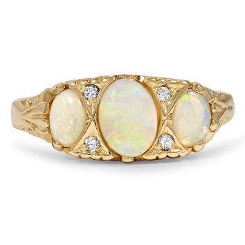 14K Yellow Gold The Ryann Ring