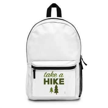 Custom Polyester Backpack: For the Hiker by PonsART $71.95