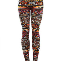 Safe and Sound Aztec Leggings