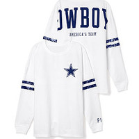 Dallas Cowboys Bling Varsity Crew - PINK - Victoria's Secret