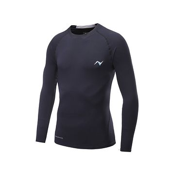 Men's Compression Baselayer Long Sleeve T Shirts