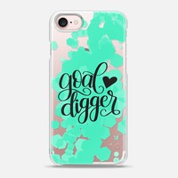 Casetify iPhone 7 Snap Case - Goal Digger by Dawn Nicole Designs