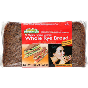 Whole Rye Bread; With Whole Rye Kernels