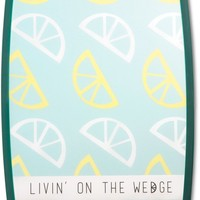 Livin' on the Wedge Cutting Board