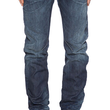 G-Star Arc Zip 3D Slim Swash Denim in Dark Aged