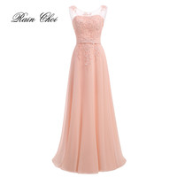 Floor-Length Chiffon Long Bridesmaid Dress Gown 2017 New Fashion Formal Bridesmaid Dresses