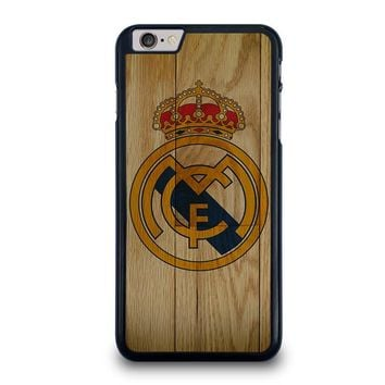 REAL MADRID FC WOODEN iPhone 6 / 6S Plus Case Cover