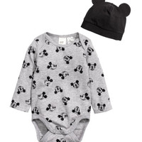 H&M Bodysuit and Hat $12.99