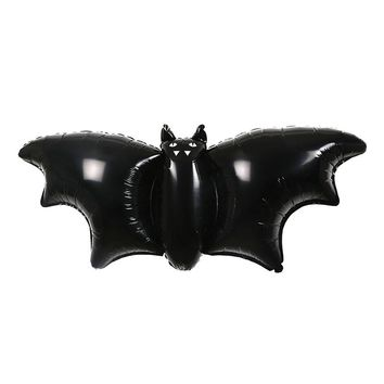 Black Foil Bat Balloons (3 Pack)
