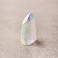 Opal Aura Quartz Crystal Point
