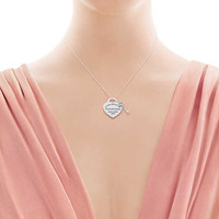 Tiffany & Co. - Return to Tiffany®:Heart Tag withKey Pendant