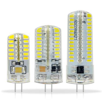 Lampada LED G4 Lamp 220V 1W 3W DC 12V G4 LED bulb SMD3014 2835 24 48 64 104L Replace 10w 30w Halogen Light 360 Beam Angle