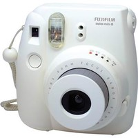 FujiFilm Instax Mini 8 Instant Film Camera - White