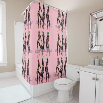 Desert Fashion Divas Shower Curtain