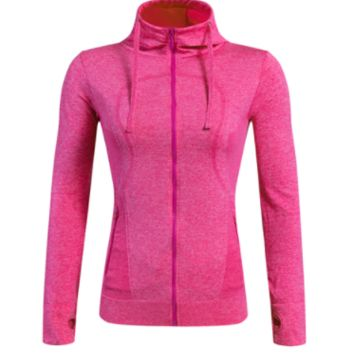 Compression Fitness Jacket, Multiple Colors