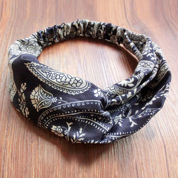 Best Seller Boho Blue Headband