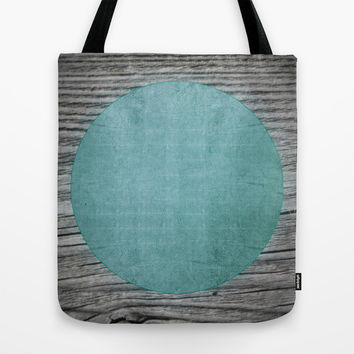 Oxyd Green Tote Bag by Julius Marc