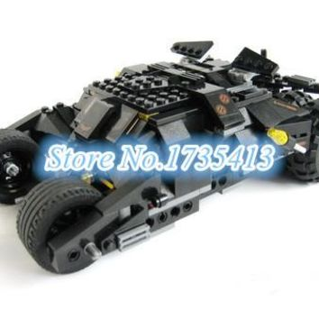 Batman The Tumbler Batmobile Build Blocks