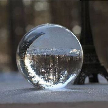 New Arrivel Clear Crystal Magic Ball Asian Natural Quartz Clear Crystal Healing Quoted Ball Sphere 40mm