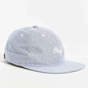 OBEY Oxford Strapback Hat- Blue One