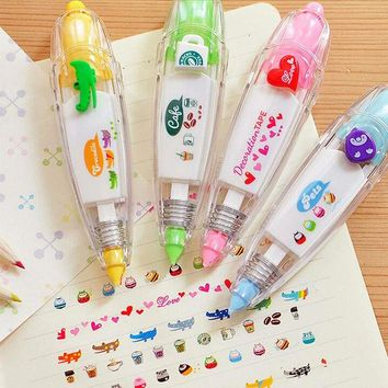 VONC1Y 1 Pc Decorative Correction Tape Lace for Key Tags Sign Students Gifts School Office Supply Korea Stationery