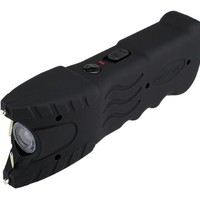 VIPERTEK VTS-979 - 51,000,000 V Stun Gun - Rechargeable with Safety Disable Pin LED Flashlight (Black)