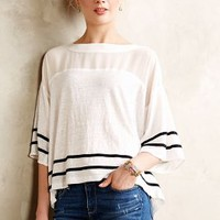 Mesh Stripe Tee by Aryn K White