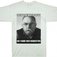 She Wants The D (Diabeetus)-Unisex White T-Shirt