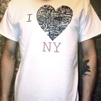 NY Heart of the City by KIMBOStudio on Etsy