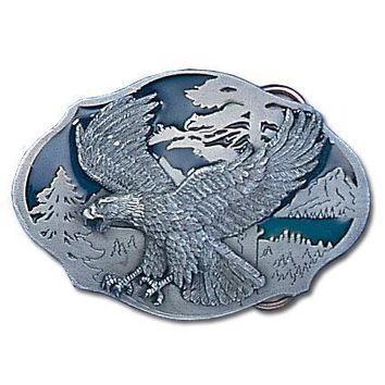 Sports Accessories - Flying Eagle Enameled Belt Buckle