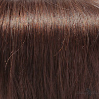 """24"""" Clip In Remy Hair Extensions: Dark Brown No. 3"""