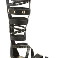 Women's Fergie 'Savannah' Studded Knee High Gladiator Sandal