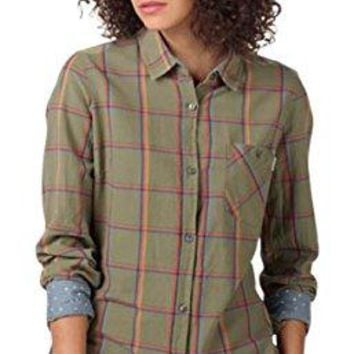 Burton Womens Grace Long Sleeve Woven Down Shirt