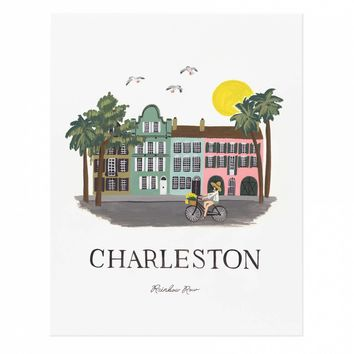 Charleston Art Print by RIFLE PAPER Co. | Made in USA