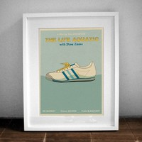THE LIFE AQUATIC 16x12 Movie Print by monstergallery on Etsy
